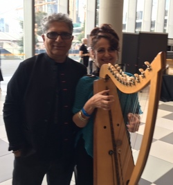 Janet Borg with Deepak Chopra